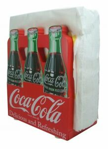 Coca-Cola Wood 6-Pack Napkin Holder Sunbelt