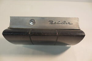 1958 Chevy Chevrolet Belair Dash Glove Box Door Assembly Emblem