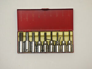 Allen 10 Piece 3 8 Drive Socket Bit Set New