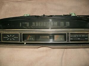 1972 Ford Torino Ranchero Speedometer Cluster With Air