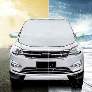 Car Windshield Snow Cover Ice Cover Extra Larg 4 Layers Protection Cover Size M