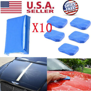 10x Clay Bar Car Auto Vehicle Clean Cleaning Detailing Remove Marks Clean Remove