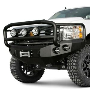 For Chevy Silverado 1500 08 13 Bumper Stealth Series Full Width Raw Front Winch