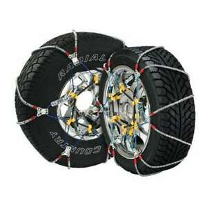 Super Z 6 Compact Cable Tire Snow Chain Set For Cars Trucks And Suvs used