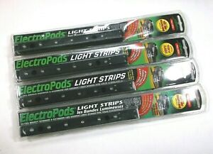 4 Large Super Bright 12 Volt Red Led Waterproof Courtesy Light Strips