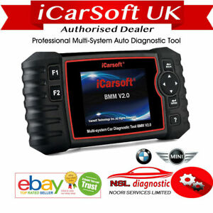 Bmw X5 E53 Diagnostic Scanner Tool Reset Fault Code Reader Icarsoft Bmm V2 0