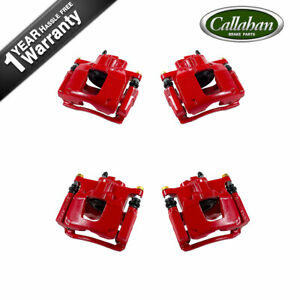 Front Rearbrake Calipers For 2008 2009 2010 2011 Nitro Jeep Liberty Wrangler