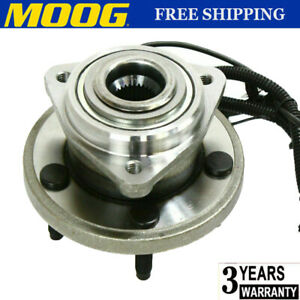 Moog Front Wheel Hub Bearing Fits Jeep Commander Grand Cherokee 4wd W abs 5 Stud