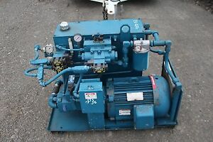 Oilgear Lincoln Ultimate 15hp Hydraulic Power Pack Pvw20 Lsa Rusbv115