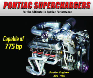 Pontiac 455 400 Paxton Novi 1200 Supercharger Bracket Kit Gto Firebird Trans Am
