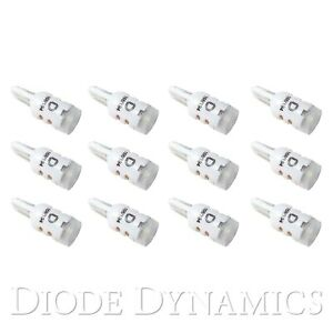For Dodge Coronet 65 73 Diode Dynamics Hp3 Led Bulbs 194 T10 Warm White