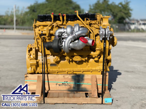 2005 Caterpillar C15 Acert Diesel Engine For Sale Twin Turbo 475hp Mxs Serial