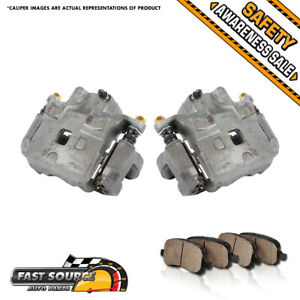 For Nissan Altima Maxima Infinti I35 Front Oe Brake Calipers And Ceramic Pads