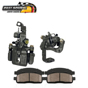 For Honda Accord Coupe Sedan Rear Oe Brake Calipers And Pads