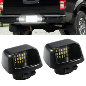 Led License Plate Lights Lamp For 2007 2019 Nissan Frontier Armada Titan Xterra
