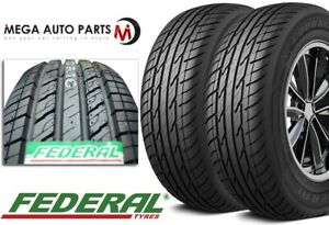 2 New Federal Couragia Xuv P235 65r18 106h All Season Suv Touring Highway Tire