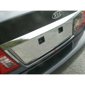 Luxury Fx Chrome License Plate Bezel For 2001 2006 Kia Optima