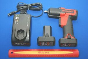 Snap On Tools 14 4 V 3 8 Drive Microlithium Cordless Impact Wrench Kit Ct761a