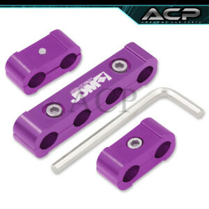 Jdm Sport Purple Spark Plug Wire Dividers Spacers For V4 Universal Seperator Set