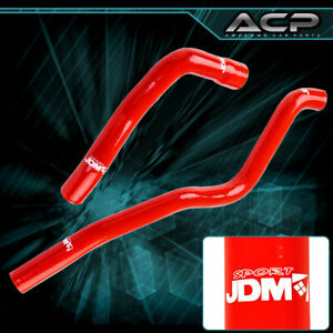 Silicone High Temp Coolant Radiator Hose Red For 71 88 Chevy Camaro Small Block