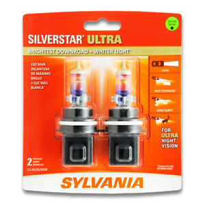 Sylvania Silverstar Ultra High Beam Low Beam Headlight Bulb For Jeep Grand Ph