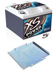 Xs Power D925 2000 Amp Agm Power Cell Car Audio Battery 527 Mounting Kit