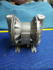 Air Operated Pneumatic Double Diaphragm Stainless Steel Pump For Parts