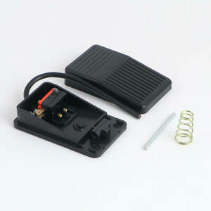 Ac 220v 10a Heavy Duty Metal Momentary Electric Power Foot Pedal Switch Vc Z
