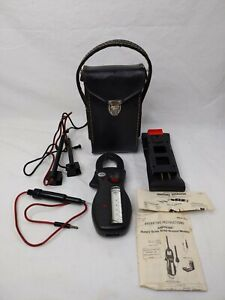 Amprobe Rs 3 Ultra Analog Clamp Meter W case And Box And With Amprobe Energizer