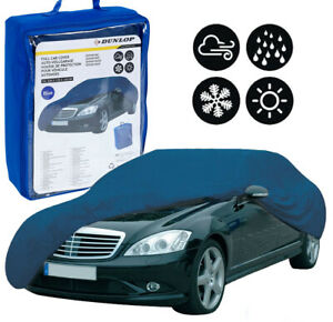 Dunlop Outdoor Heavy Duty Waterproof Protection Universal Full Car Cover Case