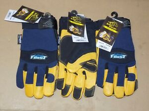 Black Stallion Thinsulate Lined Winter Work Gloves X Large 3 Pair