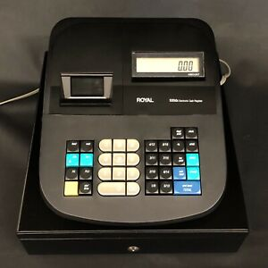 Royal 500dx Electronic Cash Register With Keys excellent Condition