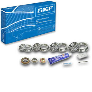 Skf Rear Axle Differential Bearing Seal For 2005 2015 Nissan Titan Kit Qg