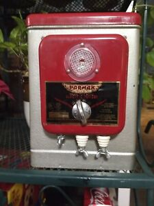 Vintage Parmak Deluxe Field Gold Plated Points 6 Volt Electric Fence Charger Nos