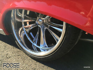 1 20x10 Foose Knuckle Forged Custom Wheels Ford Chevy Dodge Buick Olds