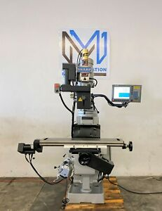 Sharp Tmv 50 3 Axis Acurite Mill Power Mp 3 Cnc Tool Room Teach Mill Bridgeport