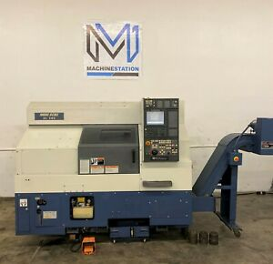 Mori Seiki Cl 203b Cnc Turning Center Big Bore Lathe Msg 803 8 Chuck Tail Sl
