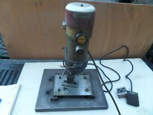 Dumore Drill Press 20 001 Industrial Automatic Drill Head 2 5 Amp W Foot Pedal