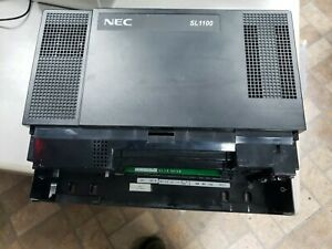 Nec Sl1100 Phone System Base Cabinet 8 Extensions W Voicemaii P4ww cfvms Card