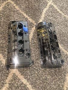 4 6 4v Chrome Valve Covers Ford Mustang Cobra 99 04 Ford Racing New Mirror Shine