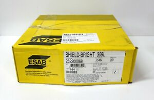 33 Spool Esab Shield bright 309l Stainless 045 Mig Weld Wire Part 252200068