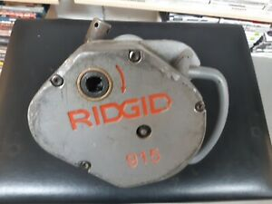 Ridgid 915 Roll Groover Portable Threading And Pipe
