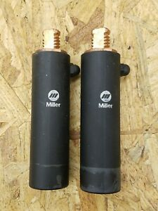 Miller 225029 Threaded Dinse Connection For High Current Dynasty Or Maxstar