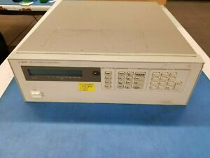 Agilent 6621a System Dc Power Supply Precision Multiple output 6130 01 284 6331