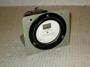 Vintage Weston Electrical Instrument Corp Model 691 Type 2 Hours elapsed Time