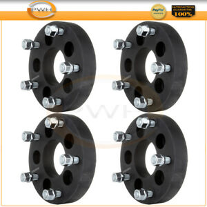 4pcs 1 25 5x4 5 To 5x5 5 Wheel Spacers Adapter For 1982 1990 Ford Bronco