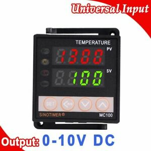 Digital Thermostat Temperature Controllers Led Dual Display Thermocouple Devices