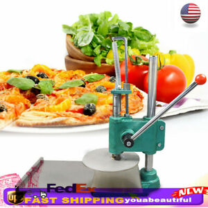 9 5 Household Manual Pastry Press Machine Pizza Dough Maker Stainless Steel New