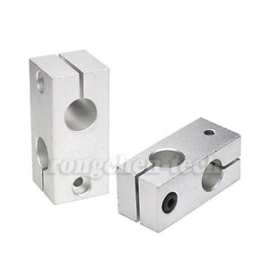 Fkh 6 30 Cross Pillar Connector Linear Rail Shaft Clamping Guide Support W screw