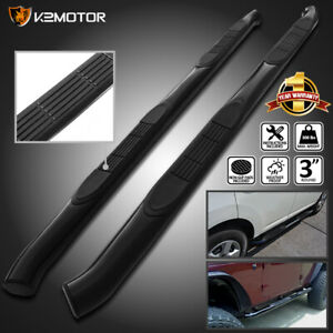 For 2007 2013 Acura Mdx 3 S S Black Side Step Nerf Bars Running Boards Pair
